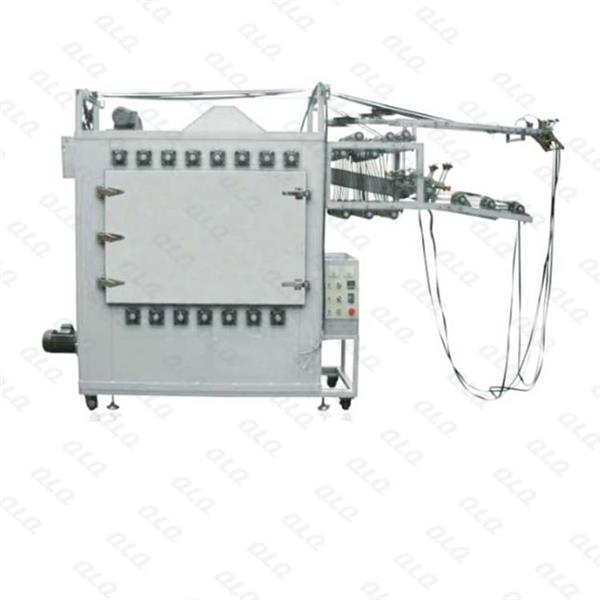 Automatic Zipper Tape Ironing Machine for Metal Zipper (4 tapes,one chamber)