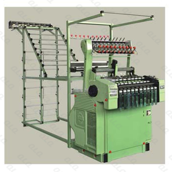 Automatic 10-25 Zipper Needle Loom Machine for Metal Zipper 10 tapes