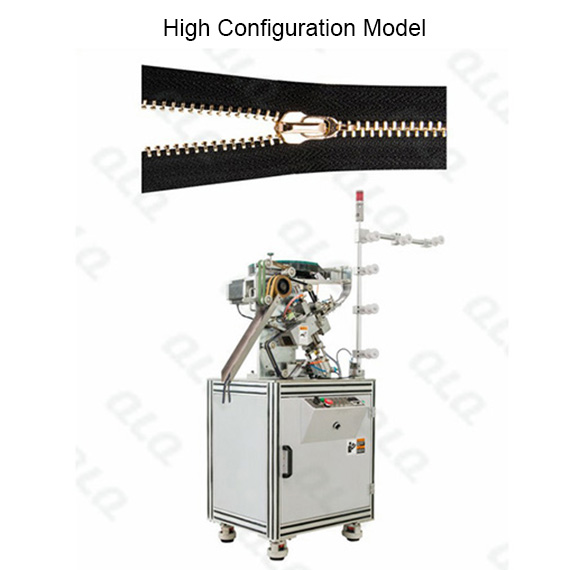 Automatic Metal Zipper Closed-end Slider Mounting Machine QLQ