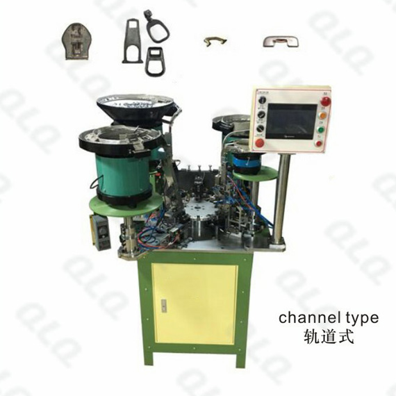 Auto-lock Slider Automatic Assembly Machine (4 Punch) C-type Monkey