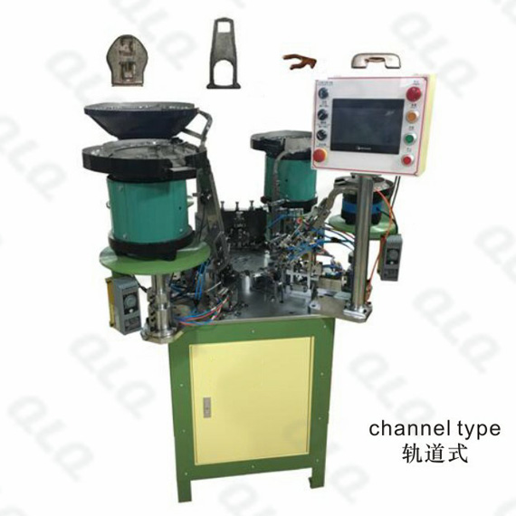 Auto-lock Slider Automatic Assembly Machine (4 Punch) Y-type Monkey
