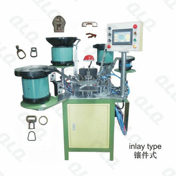 Auto-lock Slider Automatic Assembly Machine (Four Punch)
