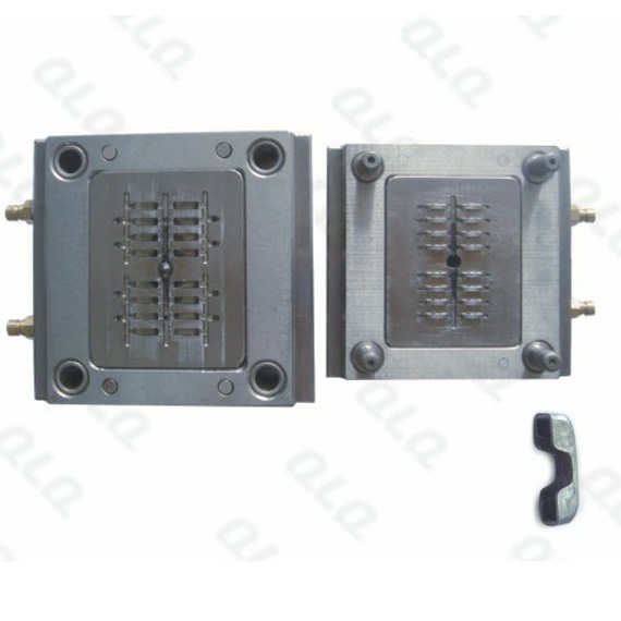 Auto-lock slider cap mould