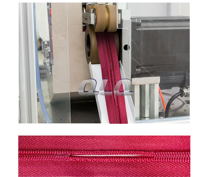 automatic-nylon-zipper-double-trimming -gapping-machine-short-model