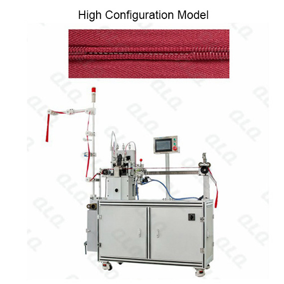 Automatic Invisible Zipper Double Trimming Gapping Machine(long model)