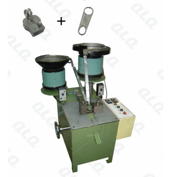 Automatic Keyhole Type Non-lock Slider Assembly Machine