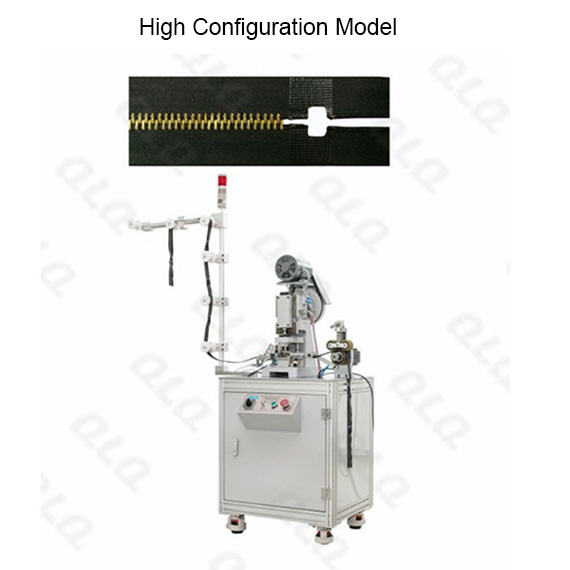 Automatic Metal Zipper Hole Punching Machine