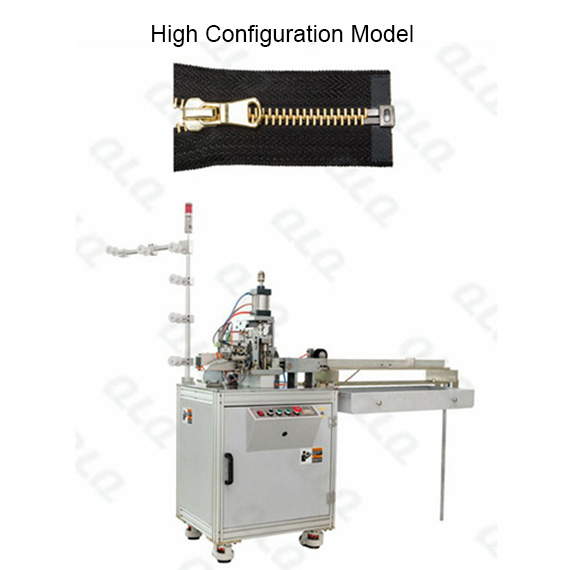 Automatic Metal Zipper Open-end Cutting Machine