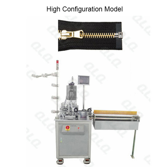Automatic Metal Zipper Ultrasonic Open-end Cutting Machine(without mechanical hand )