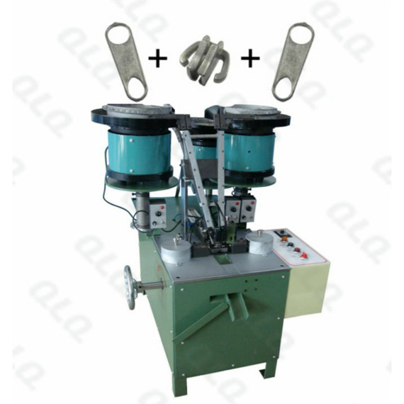 Automatic Non-lock Slider with Double Puller Assembly Machine