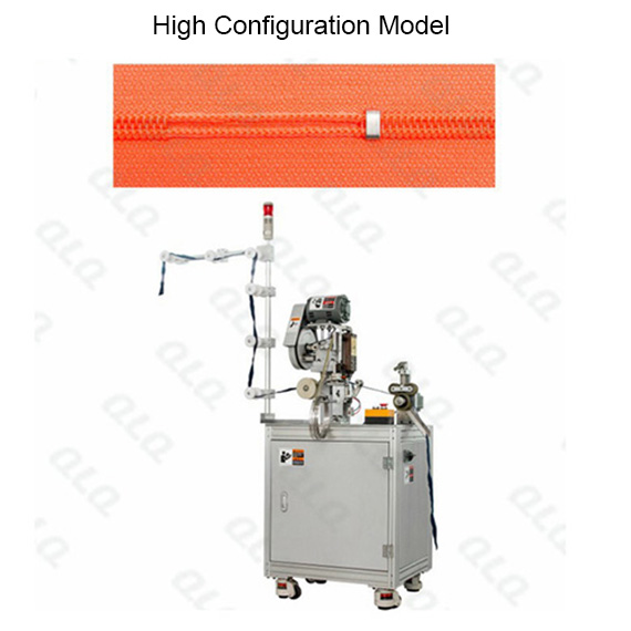 Automatic Nylon Zipper Bottom Stop Machine(by aluminum bottom stop wire)