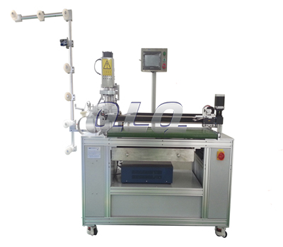 Automatic-Nylon-Zipper-Ultrasonic-Open-end-Cutting-Machine-(with labour hand )