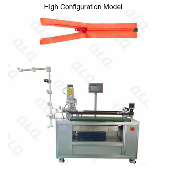 Automatic Nylon Zipper Ultrasonic Open-end Cutting Machine(with labour hand )