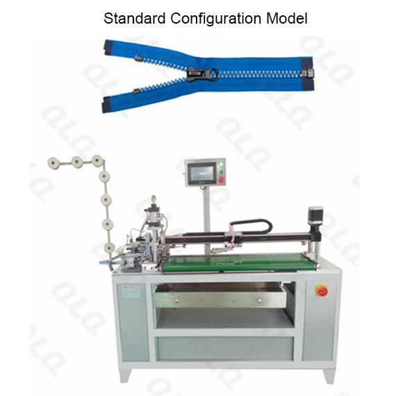 Automatic Plastic Zipper Open-end Cutting Machine(with labour hand )