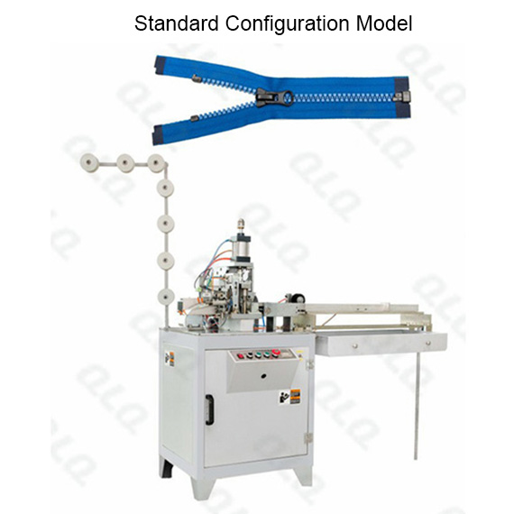 Automatic Plastic Zipper Open-end Cutting Machine