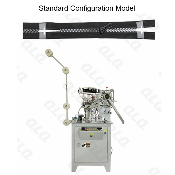 Automatic Plastic Zipper Single Side Slider Mounting Machine