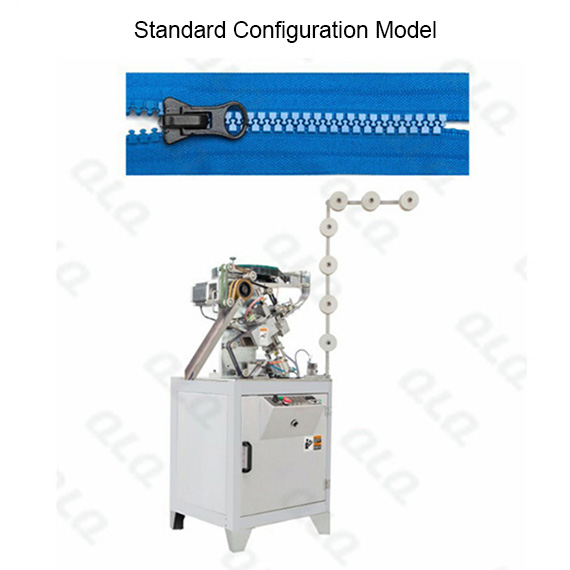 Automatic Plastic Zipper Slider Mounting and Combination Machine(for flower shape bottom stop)