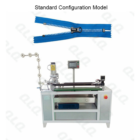 Automatic Plastic Zipper Ultrasonic Closed-end Zigzag Cutting Machine(with labour hand )
