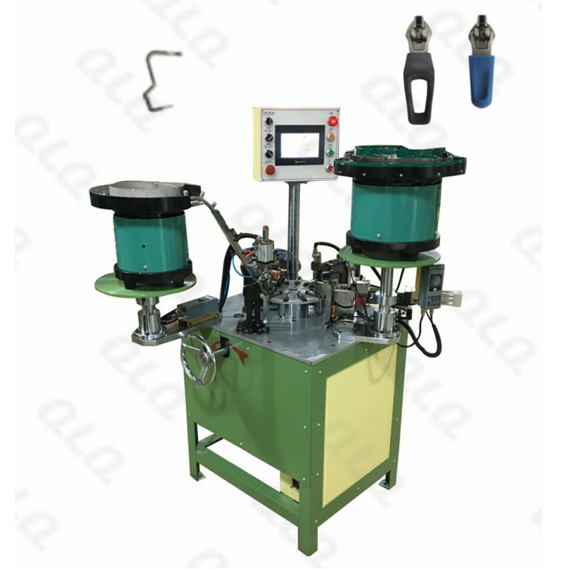 Automatic Spring-lock YG Slider and Spring Assembly Machine