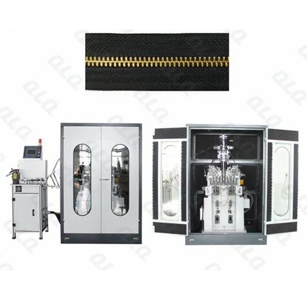 Automatic Y Teeth Stamping Machine (double heads, with soundproof box and 1 set teeth combination device) QLQ