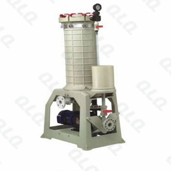 Corrosion Resistant Filter and filter core for Barrel Plating Machine