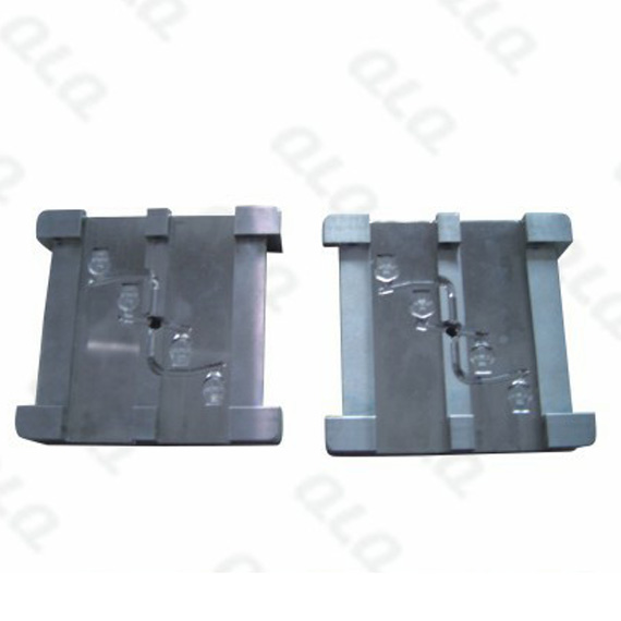 Fixed logo bottom mould insert of Italy slider body mould