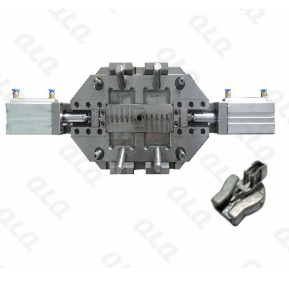 Invisible slider body die casting mould