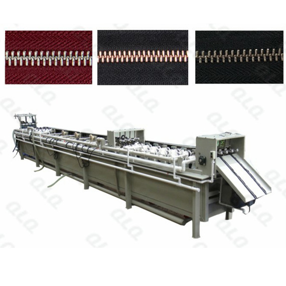 Metal Zipper Automatic Electronic Hot Plating Machine(3 tapes)