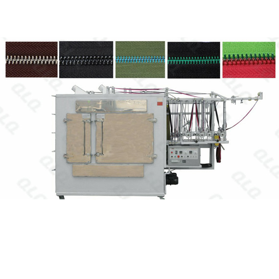Metal Zipper Two-in-One Crystal Lacquer Machine (New Model)