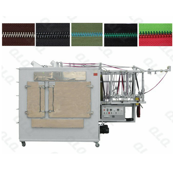 Metal Zipper Automatic Multifunctional Crystal Lacquer Machine