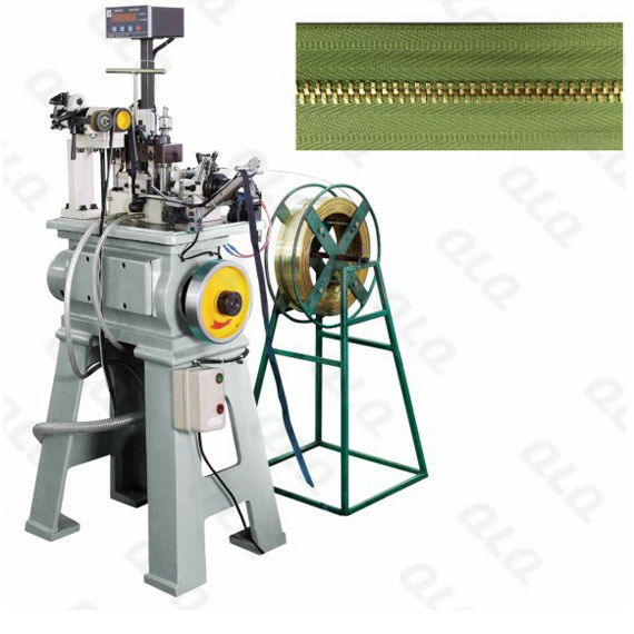 Automatic Metal Zipper Normal Teeth Stamping Machine