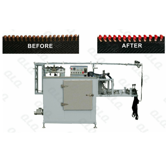 Metal Zipper Teeth Head Automatic Lacquer Machine  (Double Cycles)