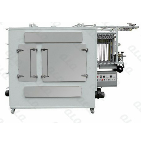 Automatic Nylon Invisible Zipper Ironing Machine (new type, two chambers) QLQ