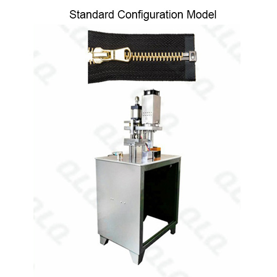 Semi Auto Metal Zipper Ultrasonic Open end Cutting Machine