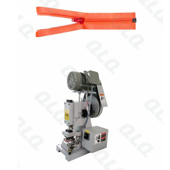 Semi-Auto Nylon Zipper Open-end Cutting Machine