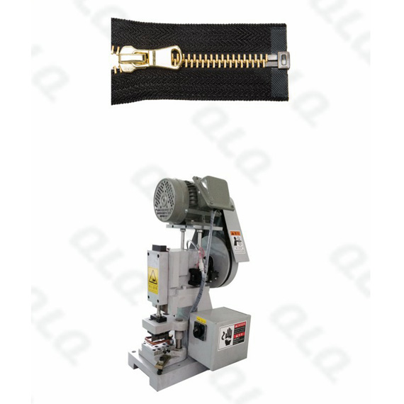 Semi-auto Metal Zipper Open-end Cutting Machine