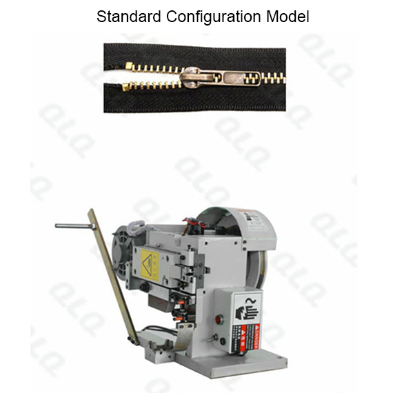 Semi-auto Metal Zipper Top Stop Machine by brass top stop wire