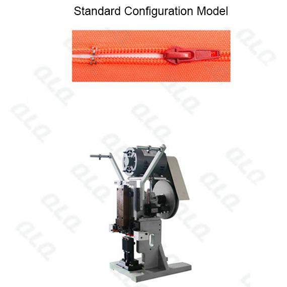 Semi-auto Nylon Zipper Top Stop Machine (by aluminum top stop wire)