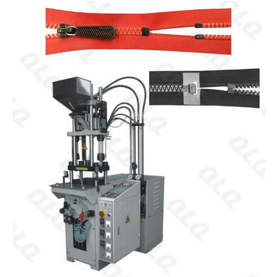 Semi-auto Plastic Zipper Closed-end and Open-end Injection Machine(for zipper with/without slider)