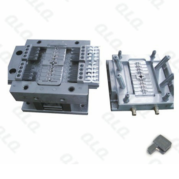 Zipper box die casting mould