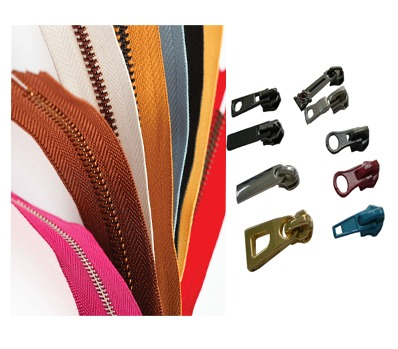 QLQ zippers and sliders | finished zippers | continuous zippers | pullers | YG sliders