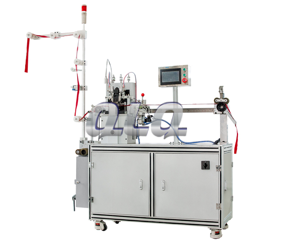 automatic-nylon-zipper-double-trimming -gapping-machine-long-model
