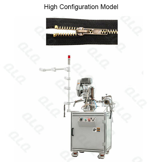 Automatic Metal Zipper Top Stop Machine by brass wire QLQ