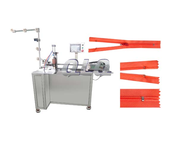 Automatic-Nylon-Zipper-Closed-end-Zigzag-Cutting-Machine-with-labour-hand- touch-screen