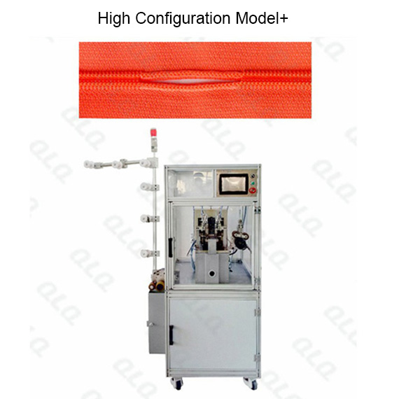Automatic Nylon Zipper Double Trimming Gapping Machine (short model) QLQ