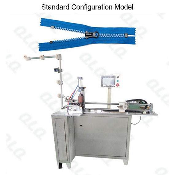 Automatic  Plastic  Zipper Closed-end Zigzag Cutting Machine(with labour hand)