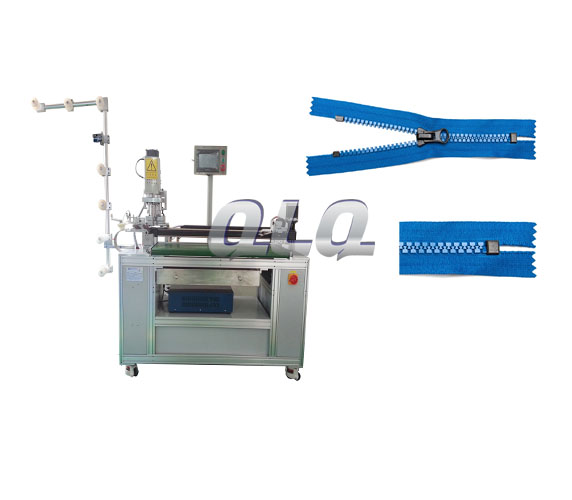 Automatic-Plastic-Zipper-Ultrasonic-Closed-end-Zigzag-Cutting-Machine-with-labour-hand