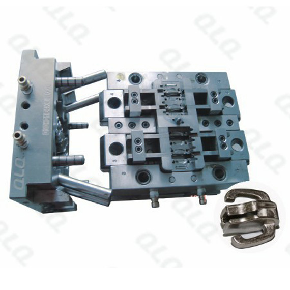 Double puller non-lock slider body mould QLQ