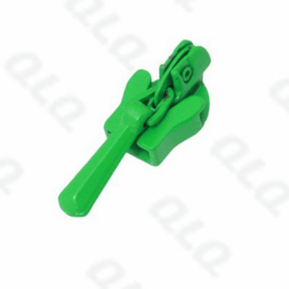 Invisible Zinc Slider Green Color Painting QLQ