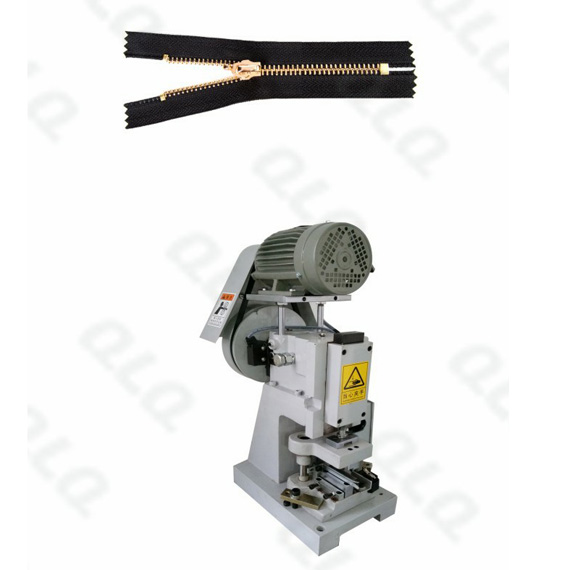 Semi-auto-Metal-Zipper-Closed-end-Zigzag-Cutting-Machine-QLQ